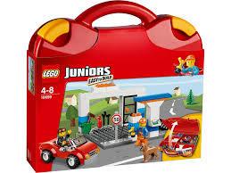 10659 LEGO Juniors Voertuigenkoffer