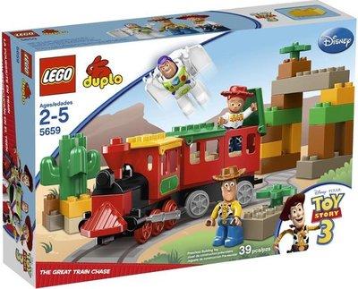5659 LEGO Duplo Ville De Grote Treinjacht