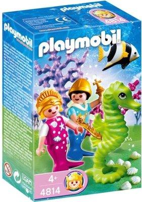 4814 Playmobil Zeemeermin met Prins