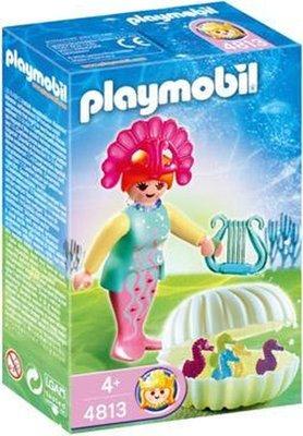 4813 Playmobil Zeemeermin met Babyzeepaardjes