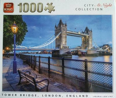 55939 King Puzzel Tower Bridge Londen 1000 Stukjes