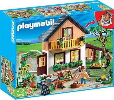 5120 Playmobil Hoeve Met Bio-Winkel