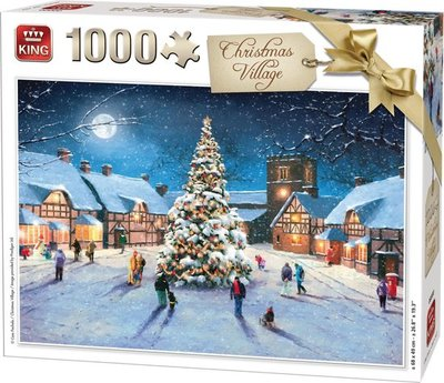 05610 King Puzzel Christmas Village 1000 Stukjes