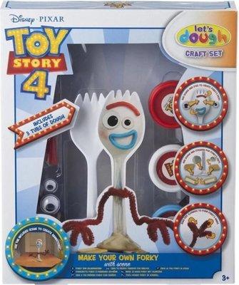 27913 Sambro Toy Story 4 Forky Maak je eigen speelfiguur Set met klei en stickers