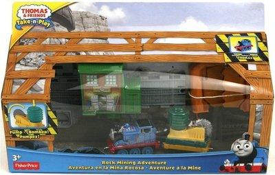 Fisher-Price Thomas & Friends Take-n-Play Speelset Thomas de trein