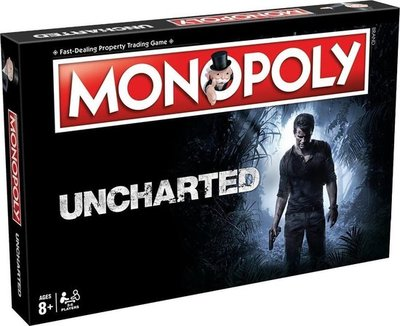 43541020 Monopoly Uncharted Engelstalig Bordspel