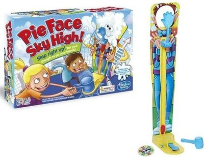2130 Hasbro Pie Face Sky High Gezelschapsspel