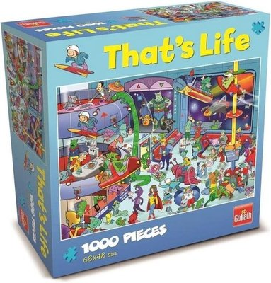 71426 Goliath Puzzel That's Life Outer Space 1000 stukjes