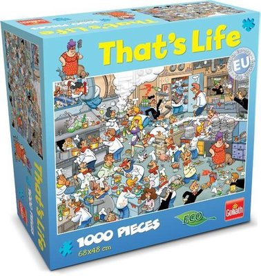 71306 Goliath Puzzel That's Life Puzzel Kitchen 1000 stukjes