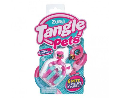 8507D Tangle Pets Junior Linky the Flamingo