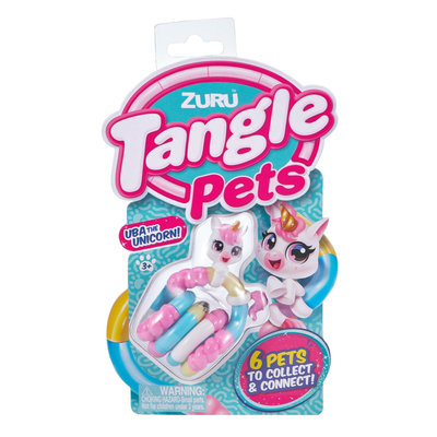 8507E Tangle Pets Junior Uba the Unicorn
