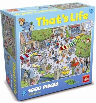 71304 Goliath Puzzel That's Life Village 1000 Stukjes