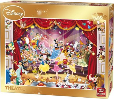 05262 King Puzzel Disney Theatre 1500 stukjes