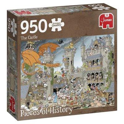 81815 Jumbo Puzzel Pieces of History The Castle 950 Stukjes