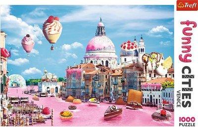 10598 Trefl Puzzel Gebak in Venetie 1000 stukjes