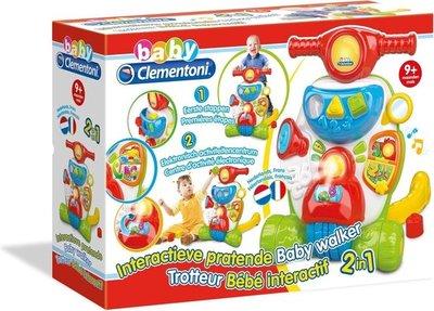 66718 Clementoni interactieve pratende Baby Looptrainer