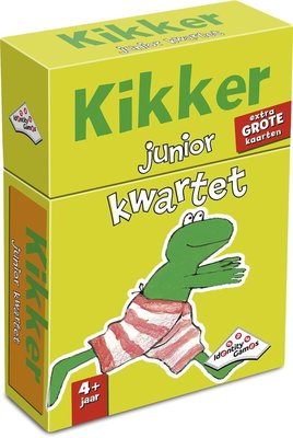 11328 Identity Games Kikker Junior Weetjes Kwartet