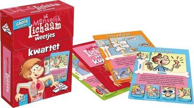 11267 Identity Games Kwartet Menselijk Lichaam