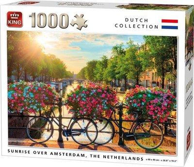 05721 King Puzzel Grachten Amsterdam 1000 Stukjes