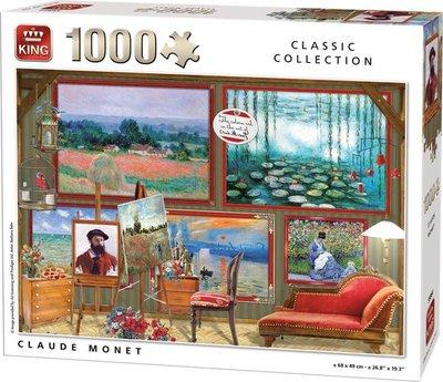 55864 King Puzzel Claude Monet 1000 Stukjes