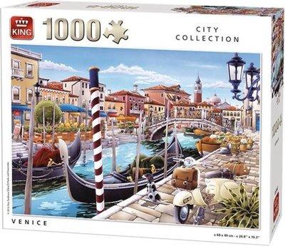 05362 King Puzzel Venice 1000 Stukjes
