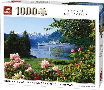 05715 King Puzzel Cruiseschip Noorwegen 1000 Stukjes