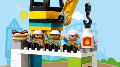 10933 LEGO DUPLO Torenkraan & Bouwterrein