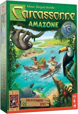 999Games Carcassonne: Amazone Bordspel