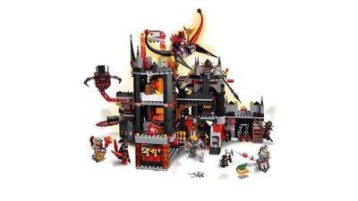 70323 LEGO NEXO KNIGHTS Jestro's Vulkaanbasis
