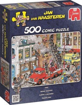 17279 Jan van Haasteren Brand Meester Puzzel 500 stukjes