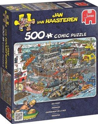 19012 Jan van Haasteren Zeehaven Puzzel 500 Stukjes