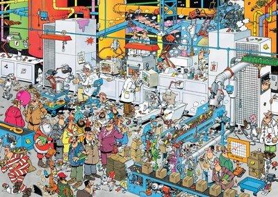 19025 Jan van Haasteren Snoepfabriek Puzzel 500 stukjes