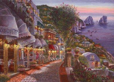 55863 King Puzzel Evening Capri 1000 Stukjes