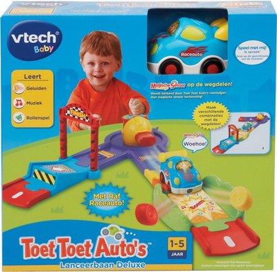144823 VTech Toet Toet Auto's Lanceerbaan Deluxe