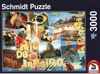 58185 Schmidt Puzzel Rio de Janeiro 3000 Stukjes