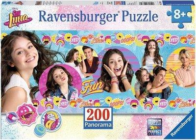 128358 Ravensburger Puzzel Disney Soy Luna Panorama 200 stukjes XXL