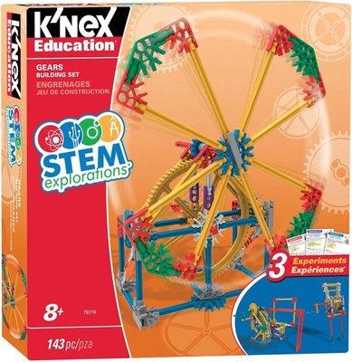 79318 K'NEX Education STEM Explorations Gears Bouwset