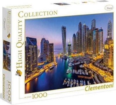 39381 Clementoni legpuzzel Dubai 1000 stukjes