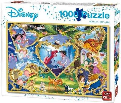 55829 King Puzzel Disney Movie Magic 1000 Stukjes