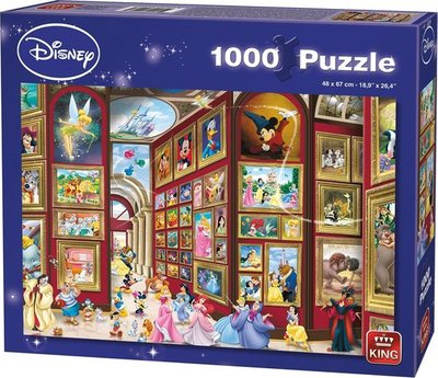 55903 King Disney Puzzel Art Gallery 1000 Stukjes