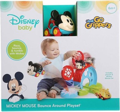16016 Disney Mickey Mouse Bounce Around Playset Go Grippers