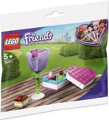 30411 LEGO Friends Snoepdoos en Bloem (Polybag)