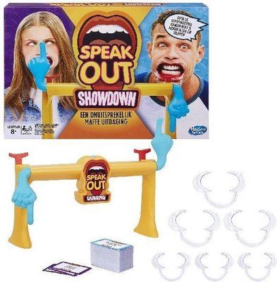 1917 Hasbro Gaming Speak Out Showdown Partyspel