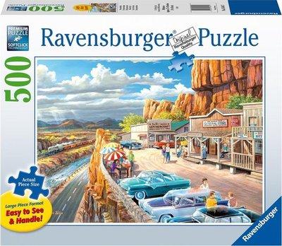 164417 Ravensburger puzzel Mooi uitzicht 500 stukjes