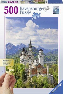 136810 Ravensburger puzzel Neuschwanstein 500 stukjes