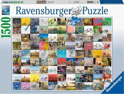 160075 Ravensburger Puzzel 99 Fietsen en meer…. 1500 stukjes