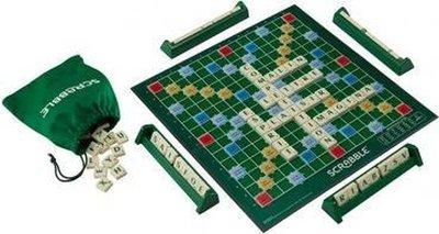 60750 Mattel Scrabble Original Bordspel
