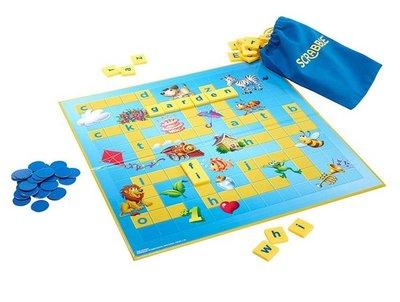 61351 Mattel Scrabble Junior Kinderspel