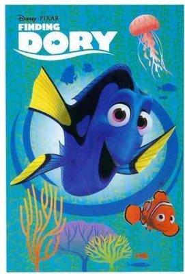66308 Disney Finding Dory fleece deken 100X150 cm