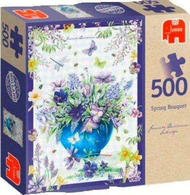 81664 Jumbo Puzzel Janneke Brinkman Spring Boeket 500 stukjes